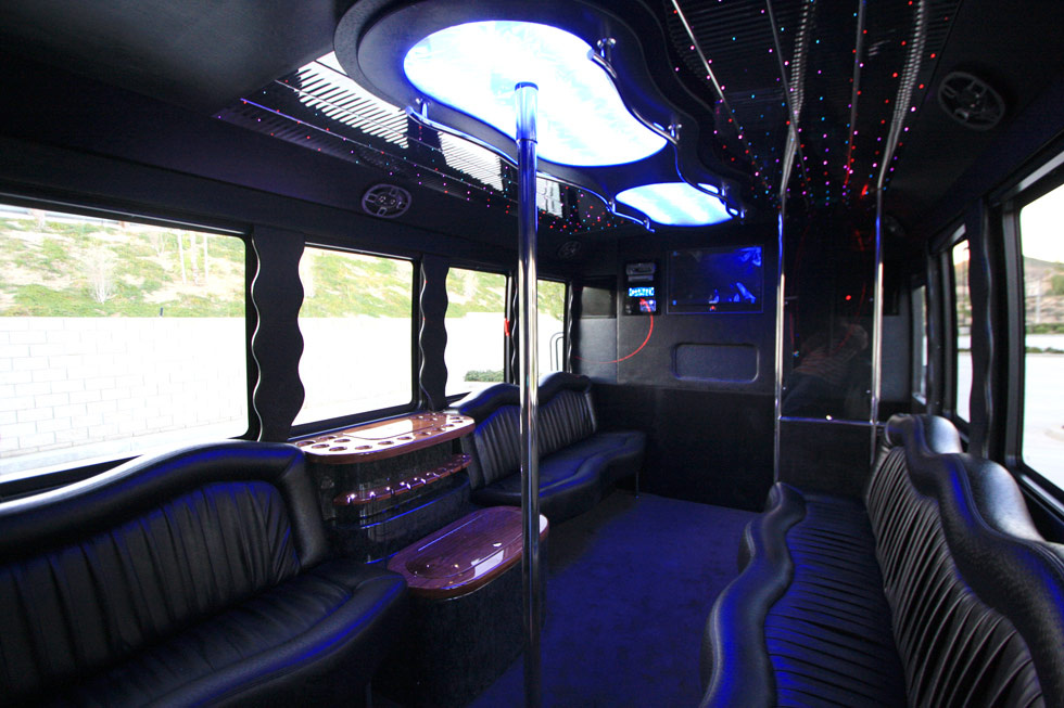 16 Passenger Party Bus Rental -OCLS