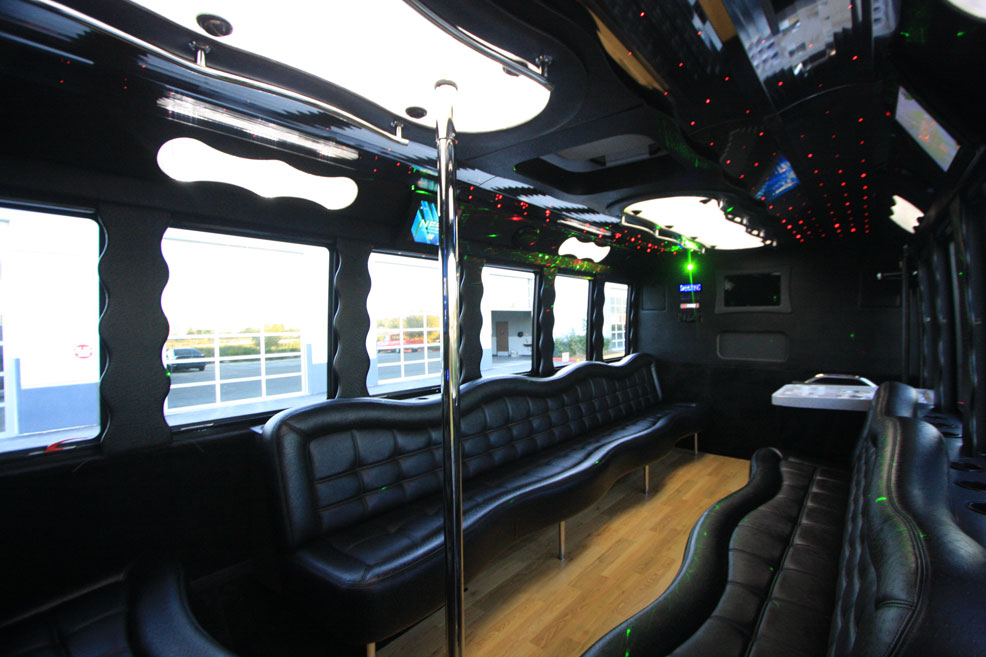 20 Passenger Party Bus Rental OCLS