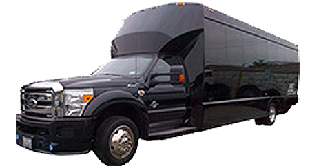 26 Passenger Party Bus Rental
