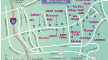 OCLS - Temecula Wine Tour Map